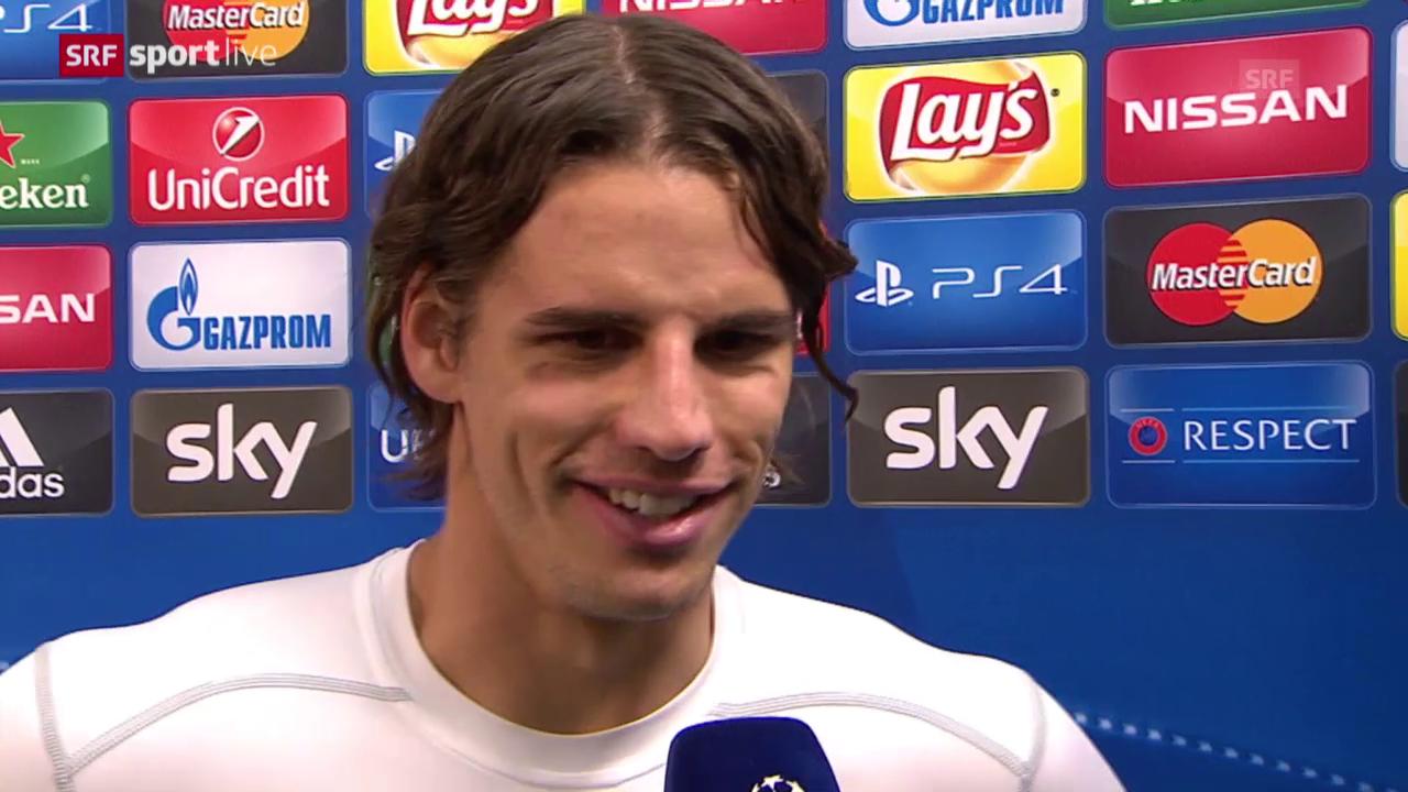Fussball: CL, Gladbach - Juventus, Interview mit Yann Sommer