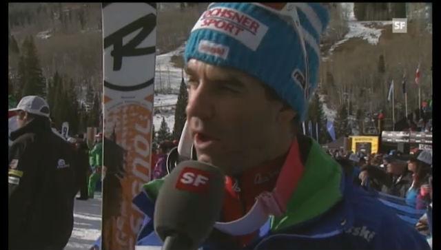 Didier Défago im Interview.