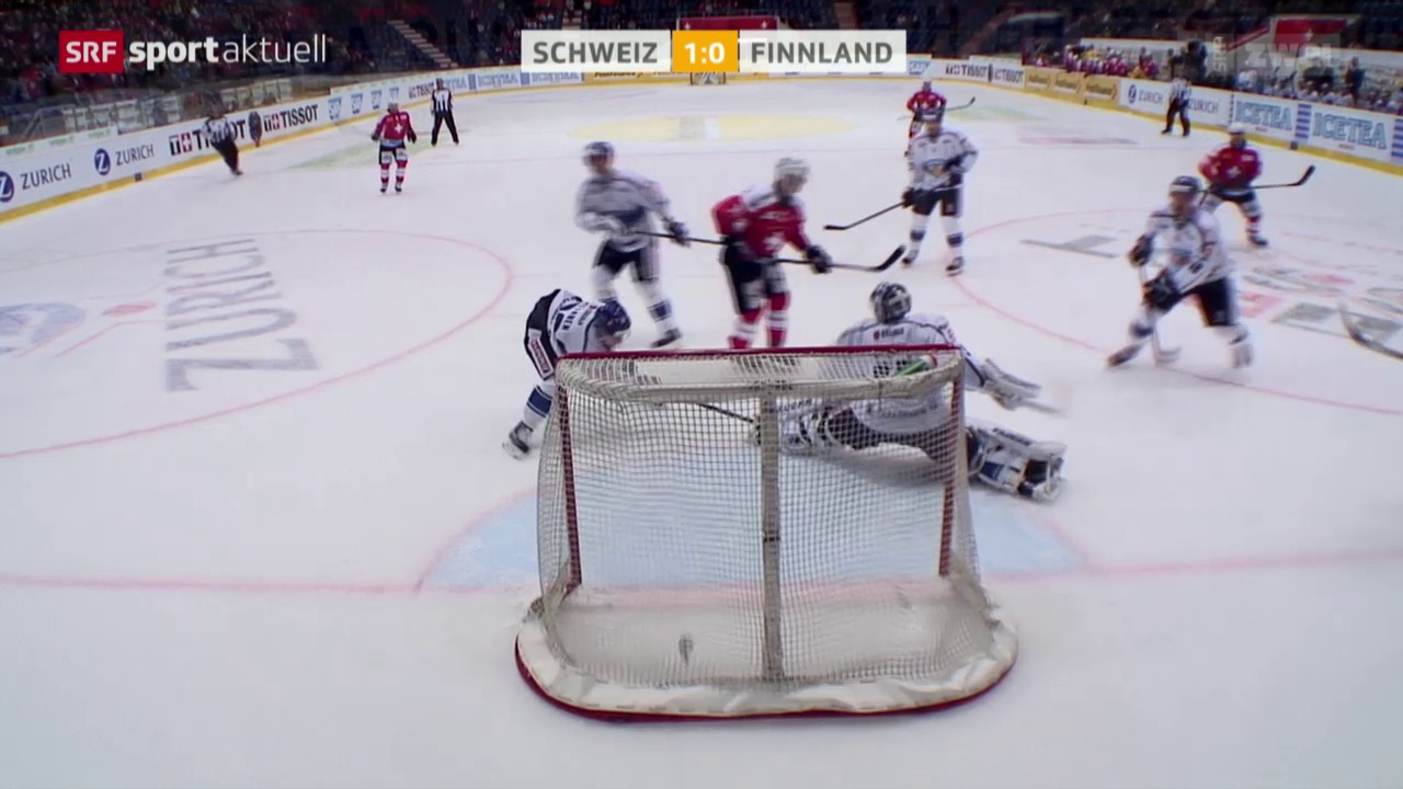 Eishockey: Testspiel Männer, Schweiz-Finnland