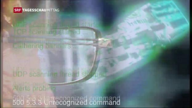 Video «Spionageangriff auf VBS und Ruag» abspielen