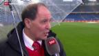 Video «Fussball: Super League, Basel - Aarau, Raimondo Ponte vor seinem Einstand» abspielen