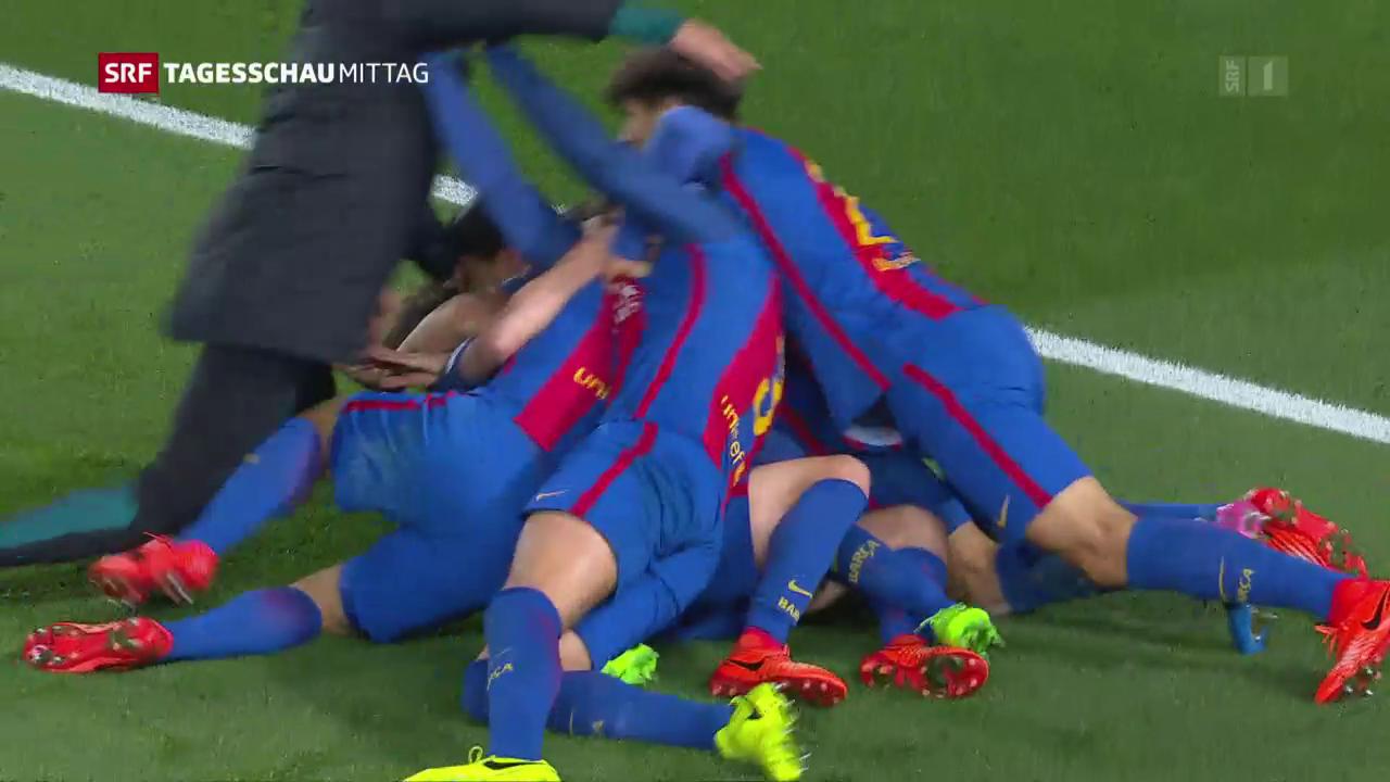 Barcelona gelingt spektakulärer Sieg