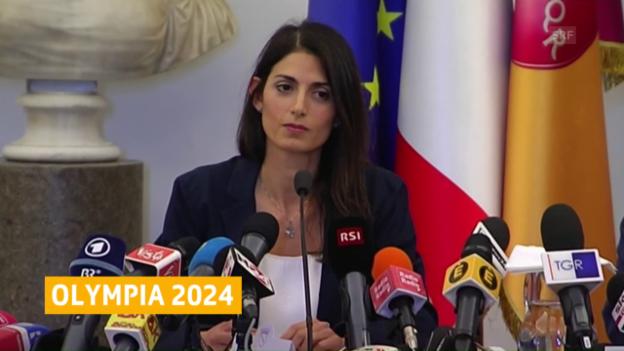 Video «Roms Bürgermeisterin Raggi legt Veto ein» abspielen