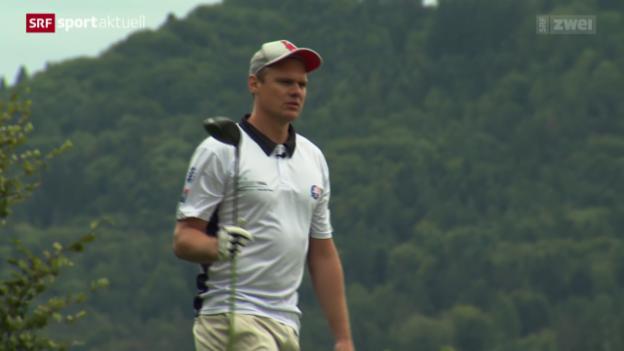 Video «Eishockey: Cracks am Charity-Golfturnier» abspielen