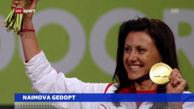 Video «Leichtathletik: Tesdschan Naimowa positiv getestet («sportaktuell»)» abspielen