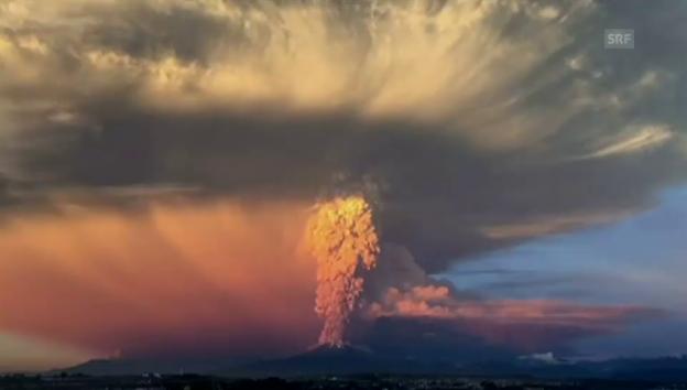 Video «Der Ausbruch des Calbuco» abspielen