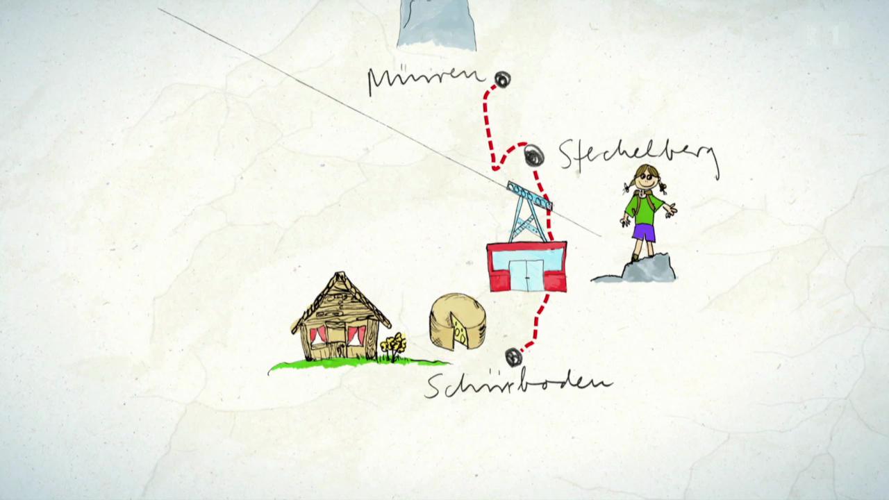 1. Tag: Müren - Stechelberg - Schiirboden