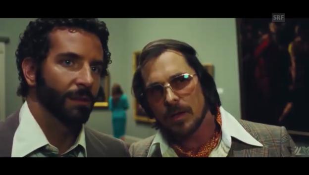 Video «Unterschiedliche Typen: Bradley Cooper und Christian Bale» abspielen
