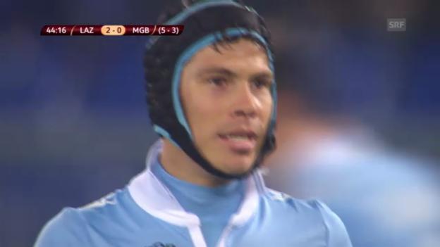 Video «Fussball: Lazio-Gladbach» abspielen