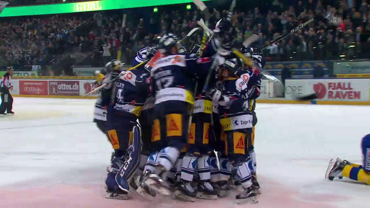 Immonen entscheidet Zuger Hockey-Thriller