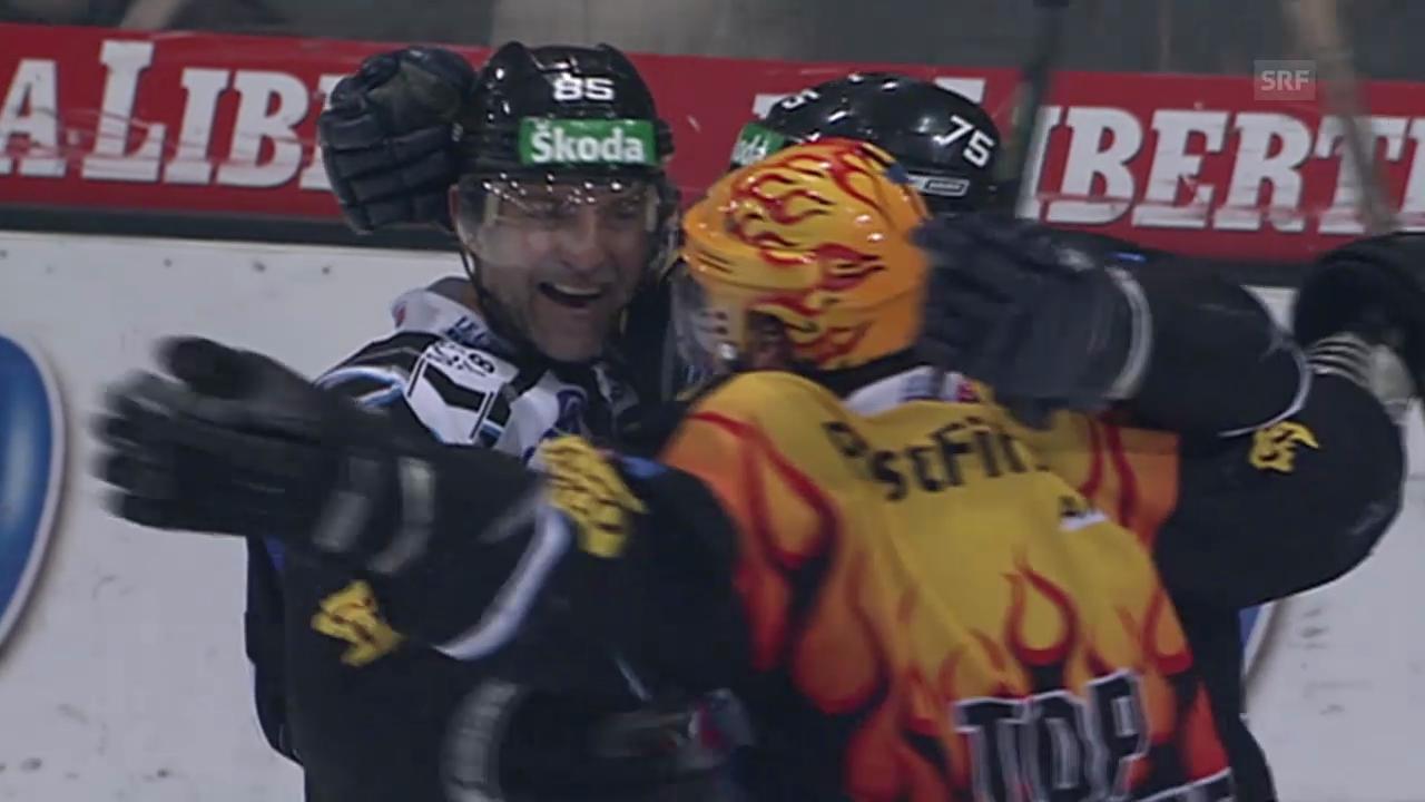 Eishockey: 6. Viertelfinalspiel Fribourg - SC Bern («sportlive» 11.03.2008)