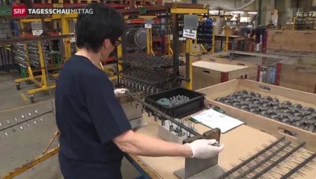 Video «Kurzarbeit wird auf künftig steigen» abspielen