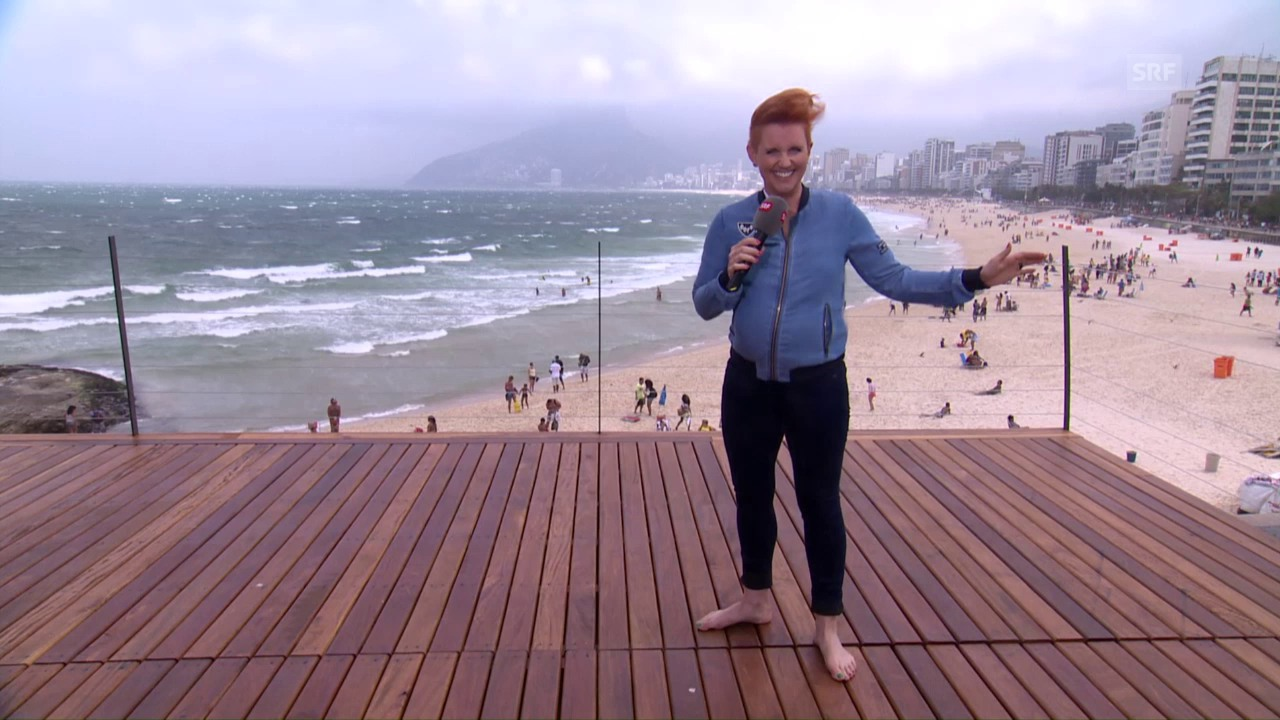 Steffi Buchli gegen Rios Winde