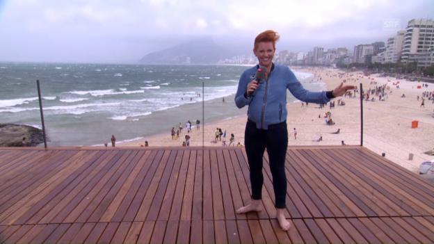 Video «Steffi Buchli gegen Rios Winde» abspielen