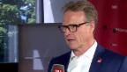 Video «SBB-CEO Meyer: «Was heute der Fahrplan, ist morgen door to door»» abspielen