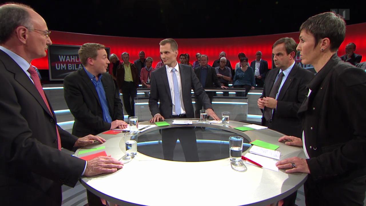 Arena: Wahlkampf um Bilaterale