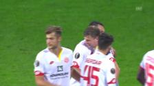 Video «Mainz-Trainer Schmidt wechselt goldrichtig» abspielen