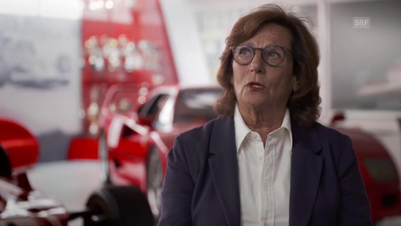 Angehörige und Bekannte über den Menschen Regazzoni (Ausschnitt aus DOK)