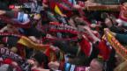 Video «Eishockey: Spengler Cup, Riga - Mountfield» abspielen