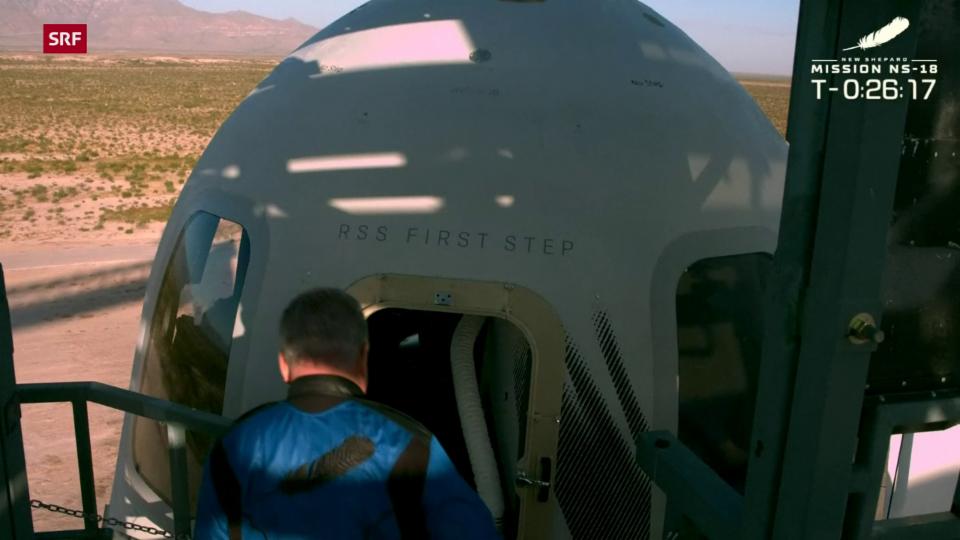 Nun auch in der Realität: Captain Kirk fliegt ins Weltall