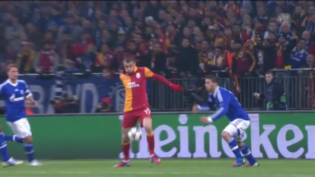 Video «CL: Schalke - Galatasaray» abspielen