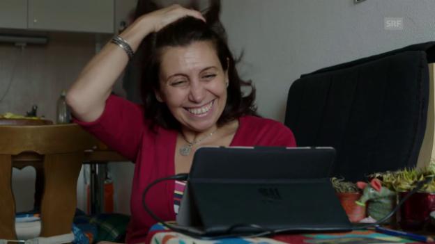 Video «Die Geflüchtete: Amal Naser» abspielen