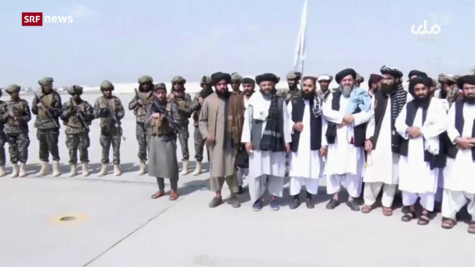 Aus dem Archiv: Die letzten US-Truppen haben Afghanistan verlassen