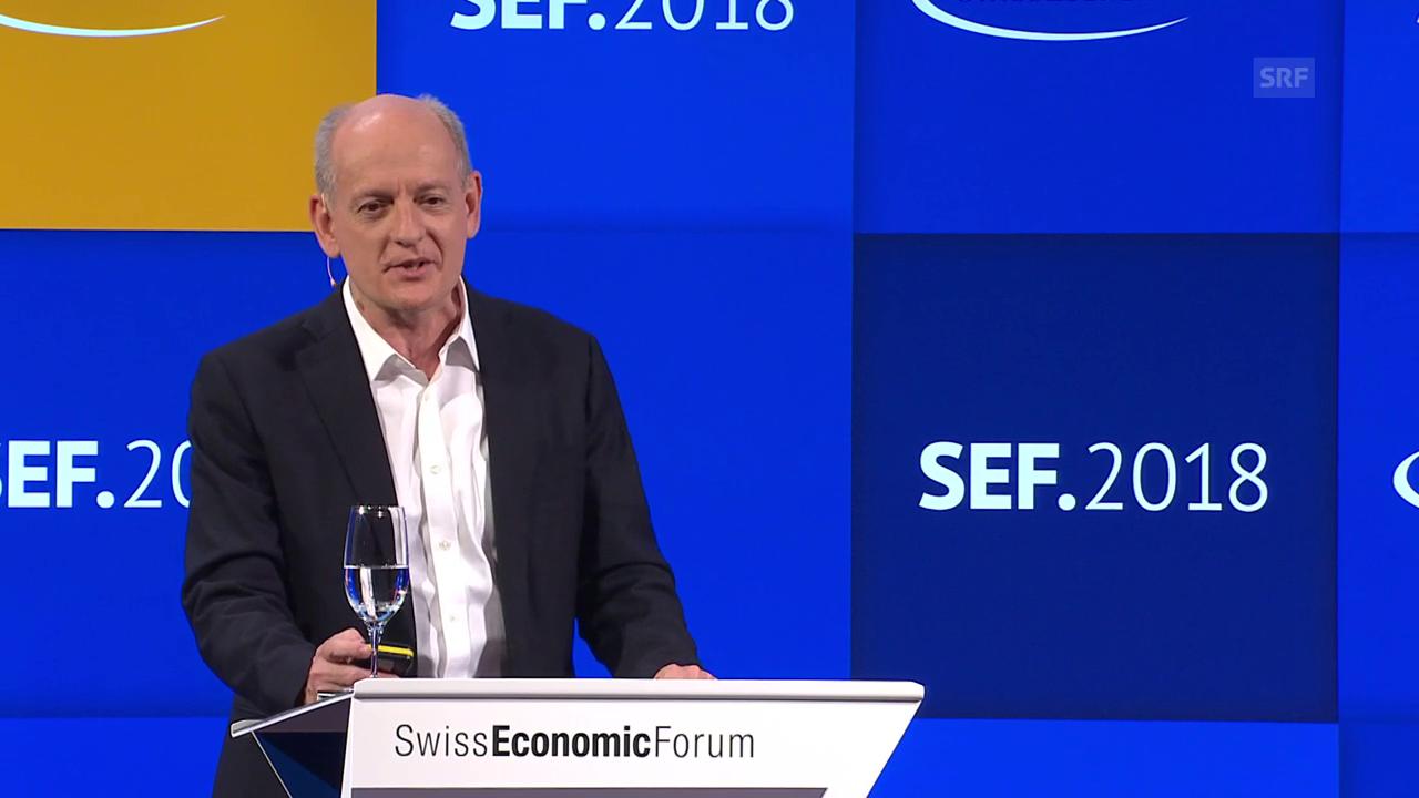 Stuart Russells Auftritt am Swiss Economic Forum