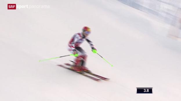 Video «Ski: Weltcup-Slalom der Männer in Levi» abspielen