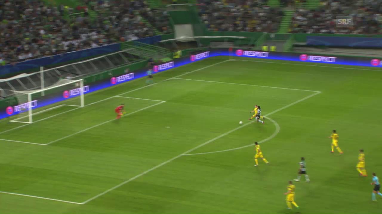 Dortmund mit wichtigem Sieg bei Sporting Lissabon