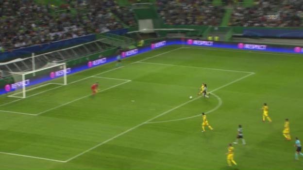 Video «Dortmund mit wichtigem Sieg bei Sporting Lissabon» abspielen