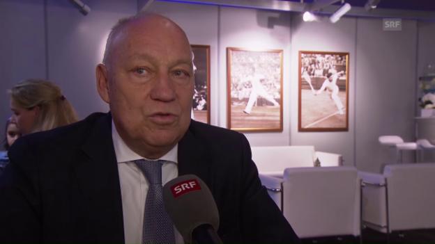 Video «Roger Brennwald zieht Bilanz zu den Swiss Indoors 2016» abspielen