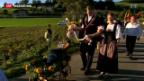 Video «Empfang von Schwingerkönig Sempach» abspielen