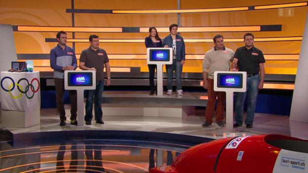 Video «Olympia-Cracks spielen für die Schweizer Sporthilfe» abspielen