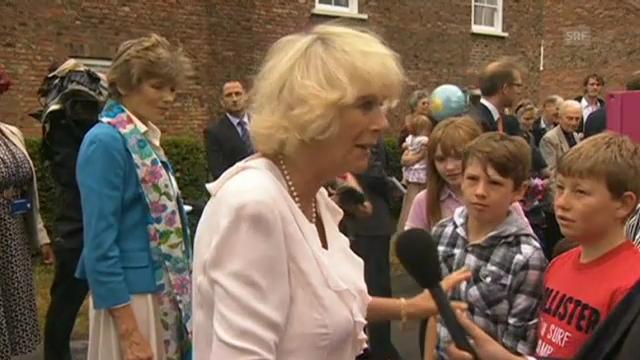 Camilla und Charles über die Baby-News