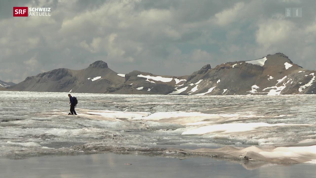 Unberechenbarer Gletschersee als Risiko