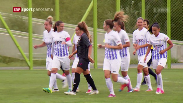 Video «Fussball: Zustand der Frauen-NLA vor dem Saisonstart» abspielen