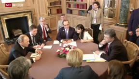 Video «Ukraine-Gespräche» abspielen