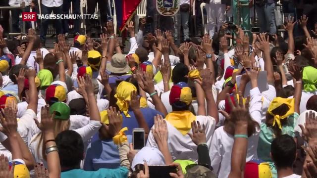 Machtkampf in Venezuela - Hilfslieferungen könnten die Lage weiter eskalieren lassen