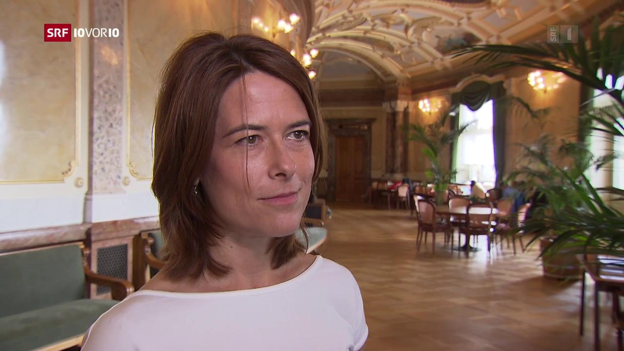 Ein Jahr Parteipräsidentin: Petra Gössi