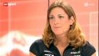 Video «Spirig zum Olympia-Rennen» abspielen