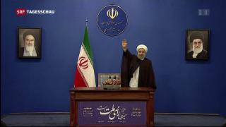 Video «Niederlage für Hardliner im Iran» abspielen