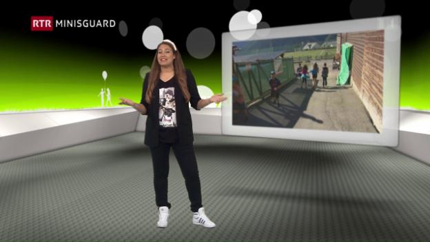 Laschar ir video «Minisguard dals 25-06-2016»