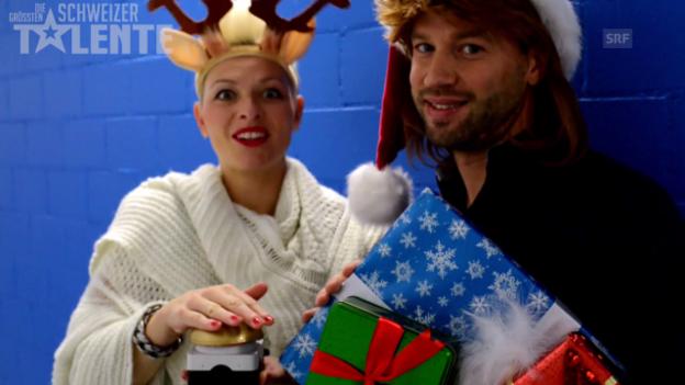 Video «Die DGST-Jury spielt «Last Christmas» auf dem Buzzer.» abspielen