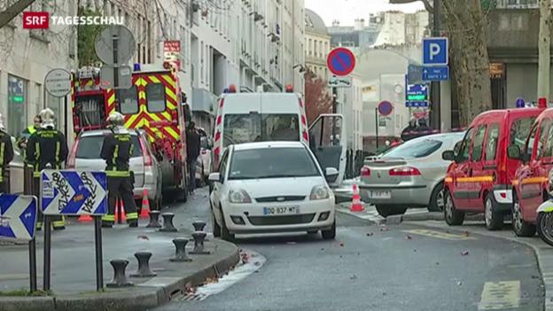 Video «Erneuter Terrorverdacht in Paris» abspielen