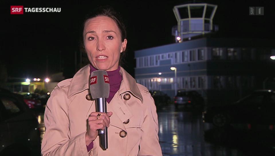 SRF-Korrespondentin Nicole Frank