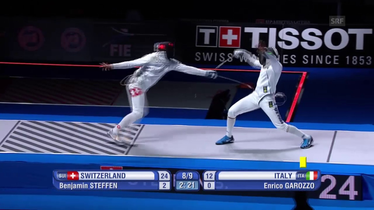 Fechten: Schweizer Degenteam gewinnt WM-Bronze