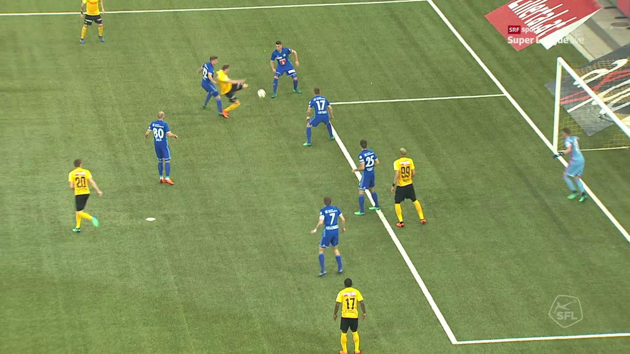 Der fragwürdige Penalty-Entscheid gegen Luzern