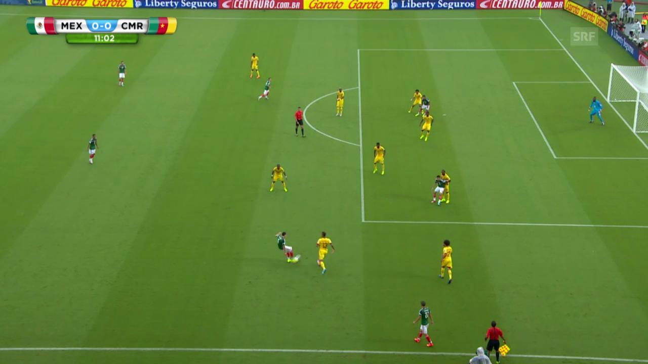 Mexiko - Kamerun: Annullierte Treffer Mexikos