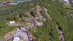 Video «Tour de France in Richtung Schweiz» abspielen